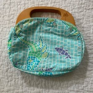 Vintage Lilly Pulitzer Bermuda Bag, reversible